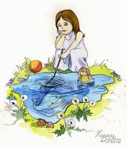 """""""Калюжа"""" – вірш про літо"""