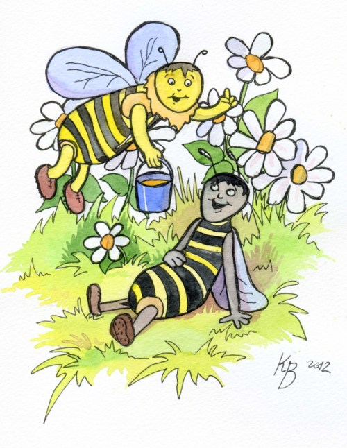вірш про бджолу Людмила Коваль