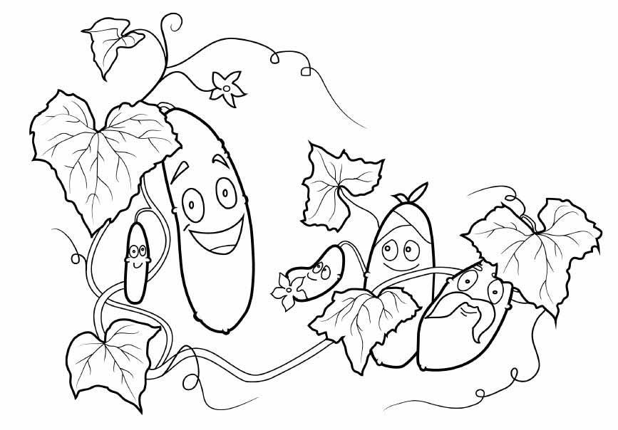 """""""Огірочки"""" – вірш про овочі"""