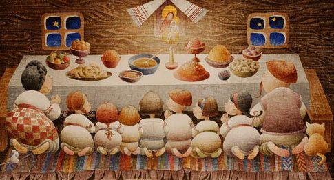 """""""Свята вечеря""""- вірш про різдвяне свято"""