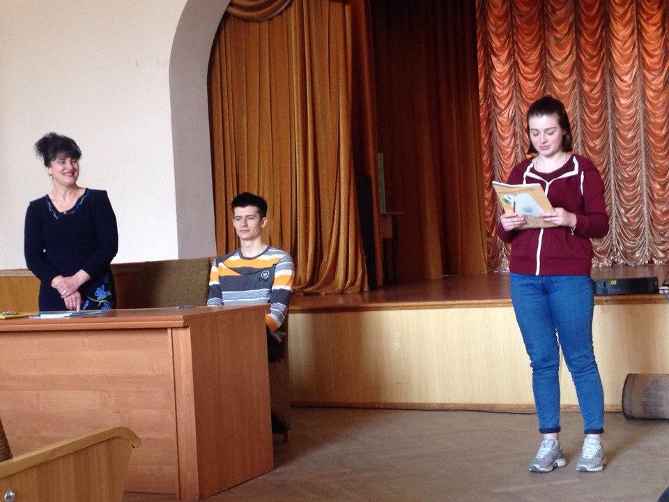 Зустріч Людмили Коваль  в Педагогічному колледжі Бердичів