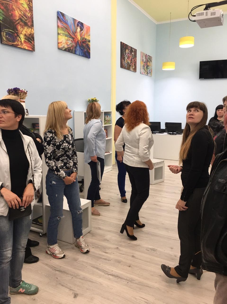 В школі №28 міста Житомир зявилась медіатека
