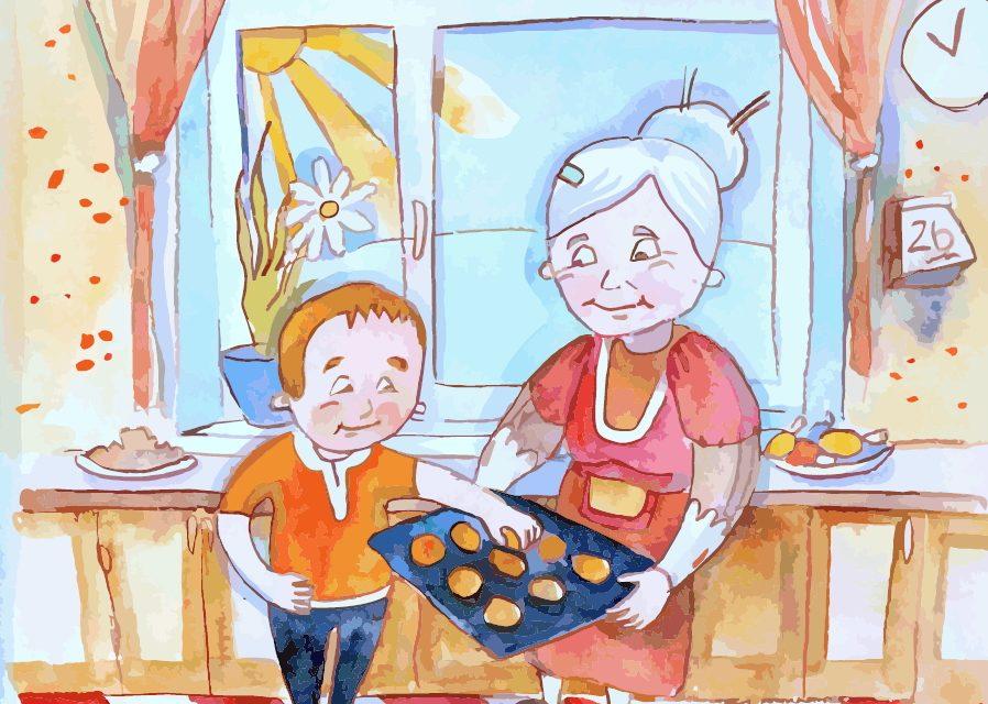 """""""Моя бабуся"""" – вірш про бабусю із збірки """"Українські берегині"""""""