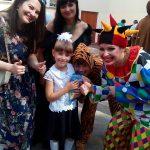 Казкове свято першого дзвоника в школі 28 міста Житомир